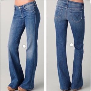 Mother Cheeky Destroyed Skinny Jeans The Wilder 28
